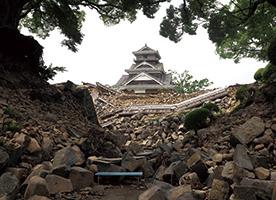 熊本城 地震の被害