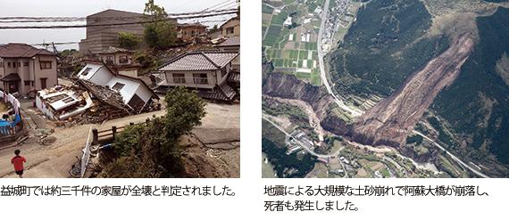 熊本市街地震の被害
